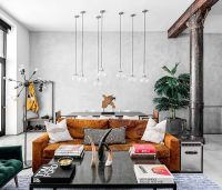 Modern Eclectic Finds an Industrial Home in the Heart of ...