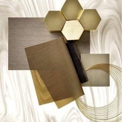 Kitchen Shelf Ideas Design Budget Corian® Celebrates Fifty Years With Concrete, Onyx And Prima
