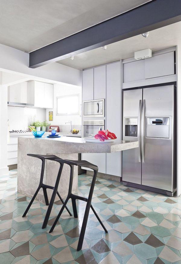 Hexagonal Tiles Ideas Kitchen Backsplash Floor And