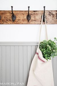 15 DIY Coat Rack Ideas that are Easy and Fun