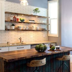 Wood Shelves Kitchen Portable Kitchens 20 Rustic Shelving Ideas With Timeless Rugged Charm In Gallery Exquisite Wooden