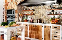 20 Rustic Kitchen Shelving Ideas with Timeless Rugged Charm