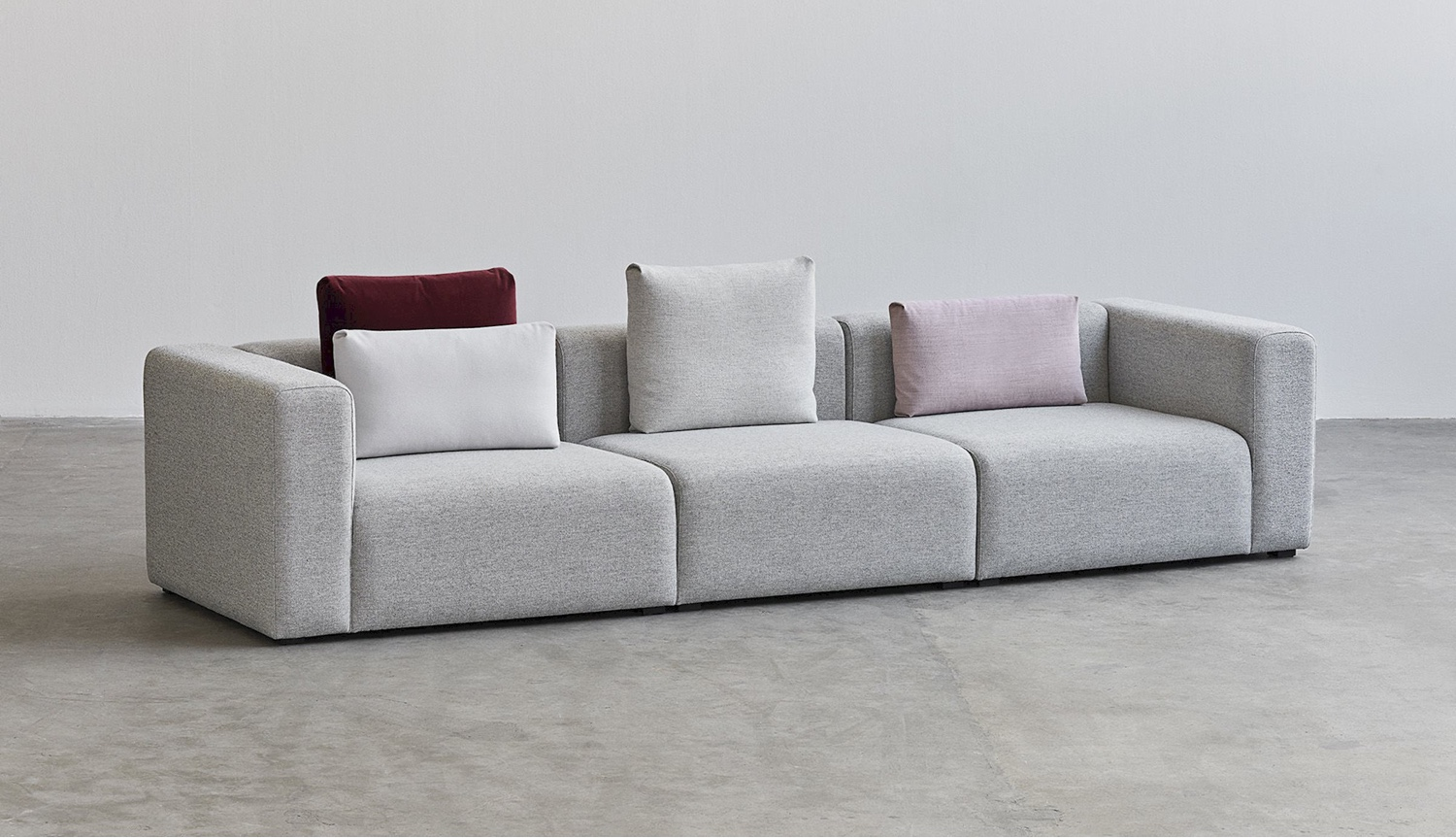 hay mags sofa fabrics power recliner sofas leather seven pertinent examples of minimalism in design