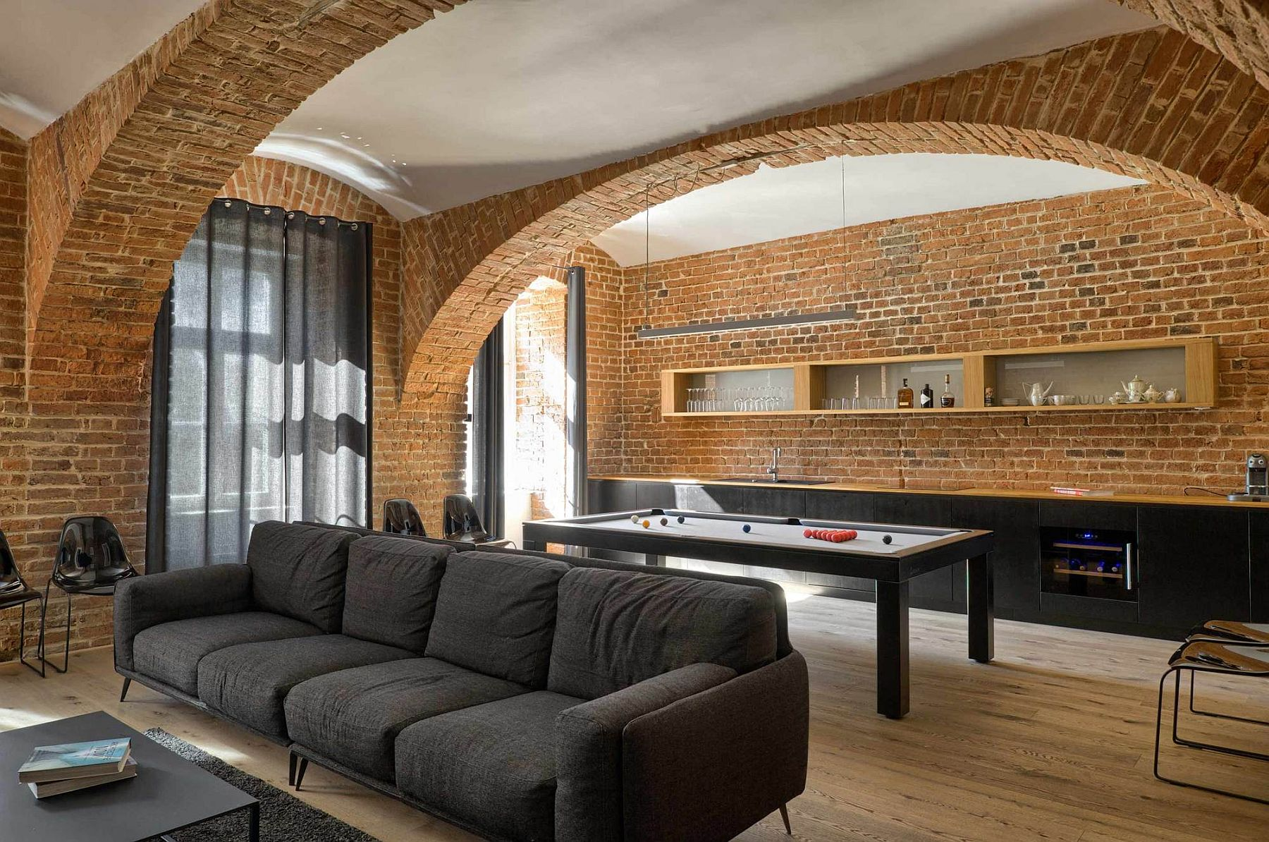 Modern Apartment Of A Football Player Celebrates The