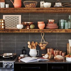 Kitchen Shelf Ideas Country Style Table 20 Rustic Shelving With Timeless Rugged Charm For Your Modern
