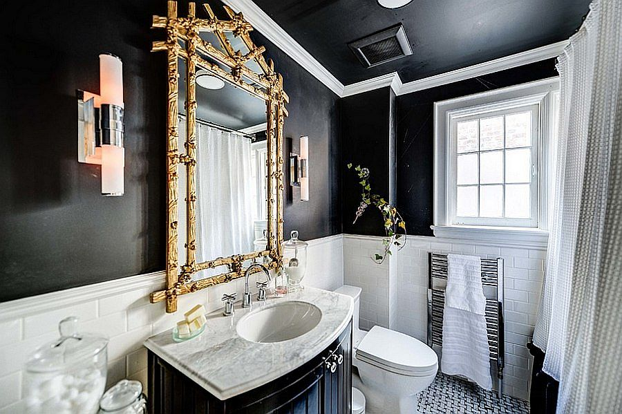 20 gorgeous black vanity ideas for a