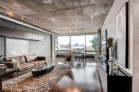 10 Contemporary Rooms with Concrete Ceiling