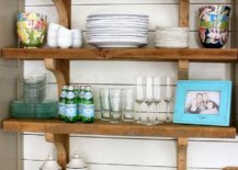 20 rustic kitchen shelving