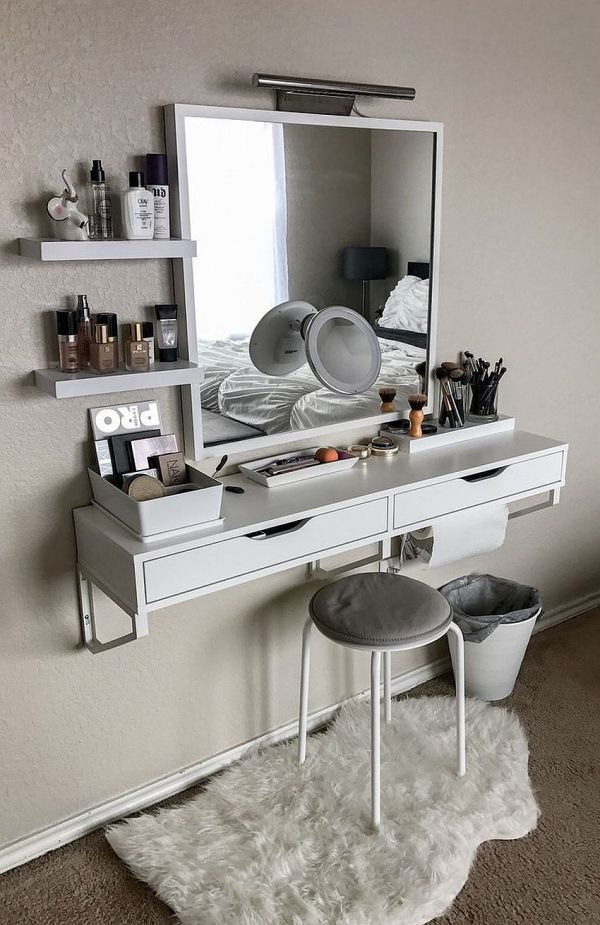 Makeup Vanity Sets And Dressers Complete Dream