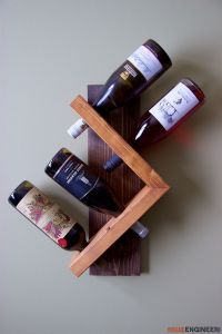 A Homemade Addiction: 13 Delightful DIY Wine Rack Ideas