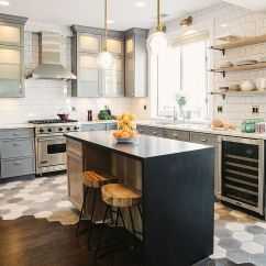 Wood Tile Floor Kitchen Floors 10 Hexagonal Tiles Ideas For Backsplash And More Transitional With Design Suzann Kletzien