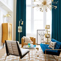Curtains In Living Room Images Hgtv Design 15 Blue Drapes And Curtain Ideas For A Stunning Modern Interior Gallery