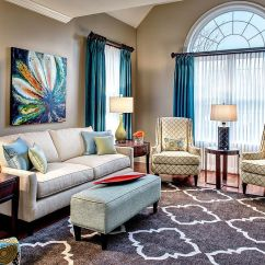 Photos Of Curtains In Living Rooms Contemporary Room Ideas On A Budget 15 Blue Drapes And Curtain For Stunning Modern Interior View Gallery