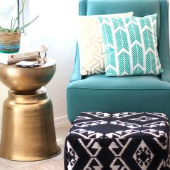 Diy Living Room Side Tables Christmas Decorating Ideas For Table 10 Easy And Budget Friendly To Try Out