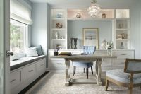 10 Gorgeous and Soothing Pastel Home Office Ideas