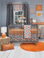 Image result for orange nursery decor
