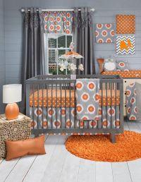 15 Cheerful Modern Orange Nursery Ideas to Welcome Fall