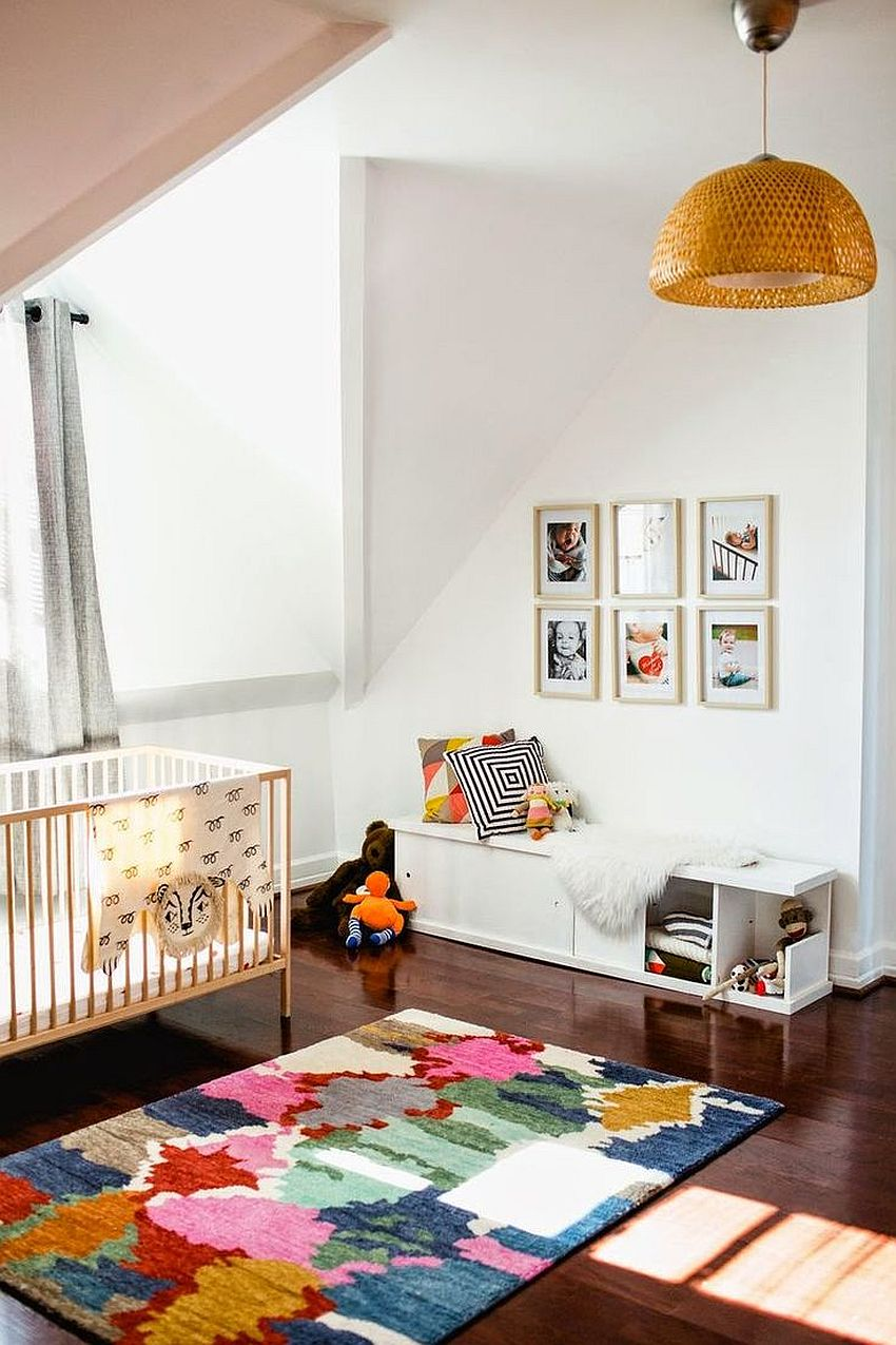 10 Ways to Bring the Nursery Alive with a Snazzy Rug
