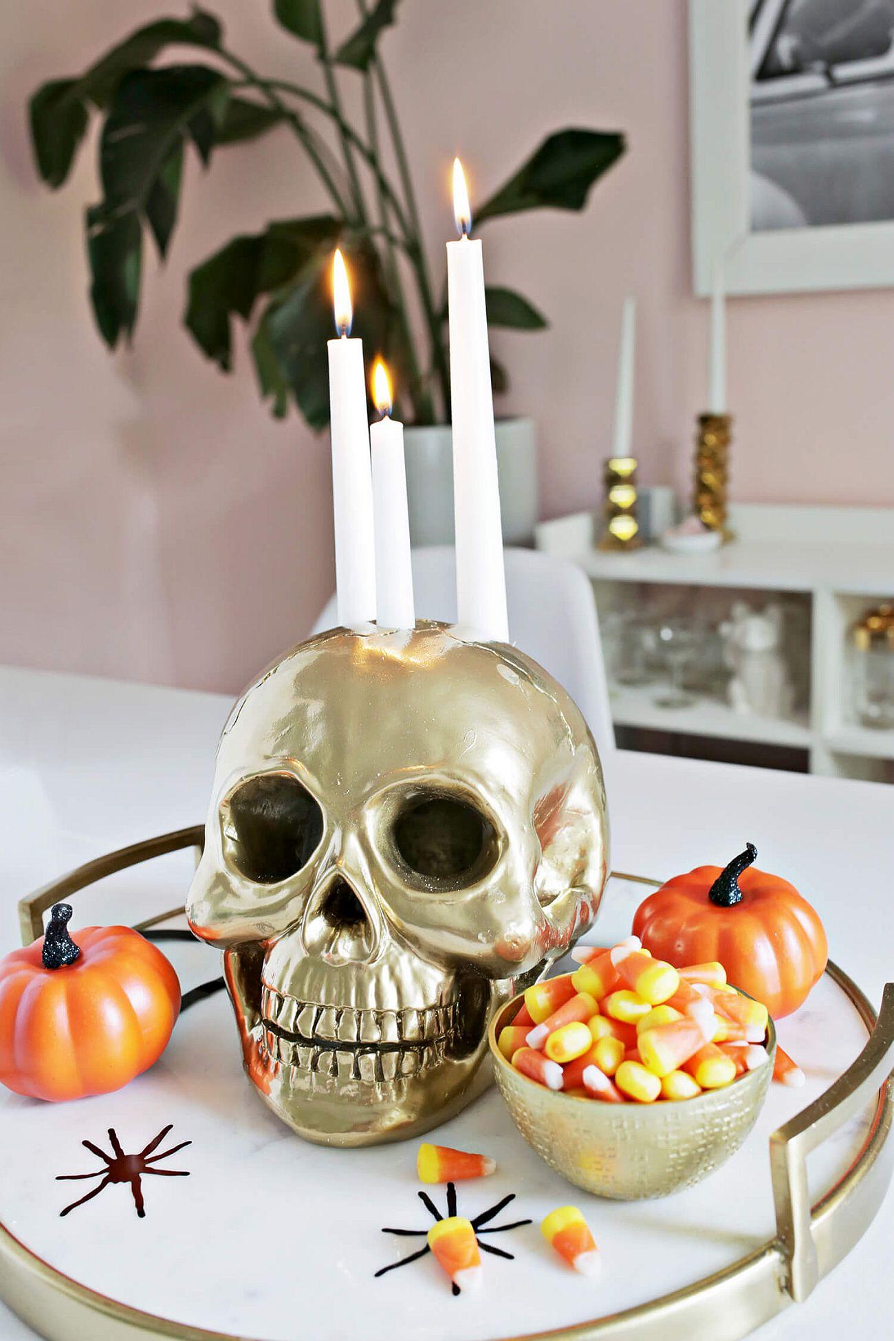 13 Creepy DIY Halloween Candle Ideas for an Eerily Radiant