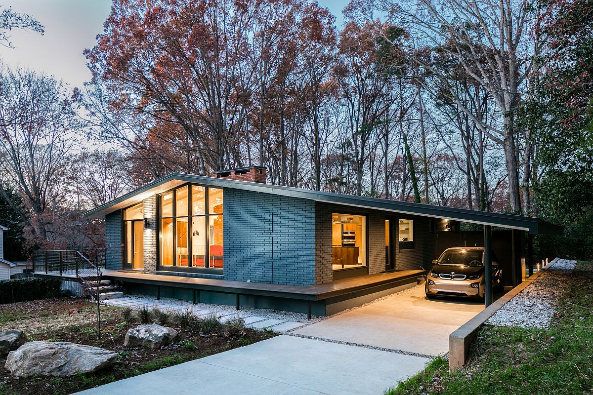 A Mid-Century Modern Recreation: Ocotea House Renovation