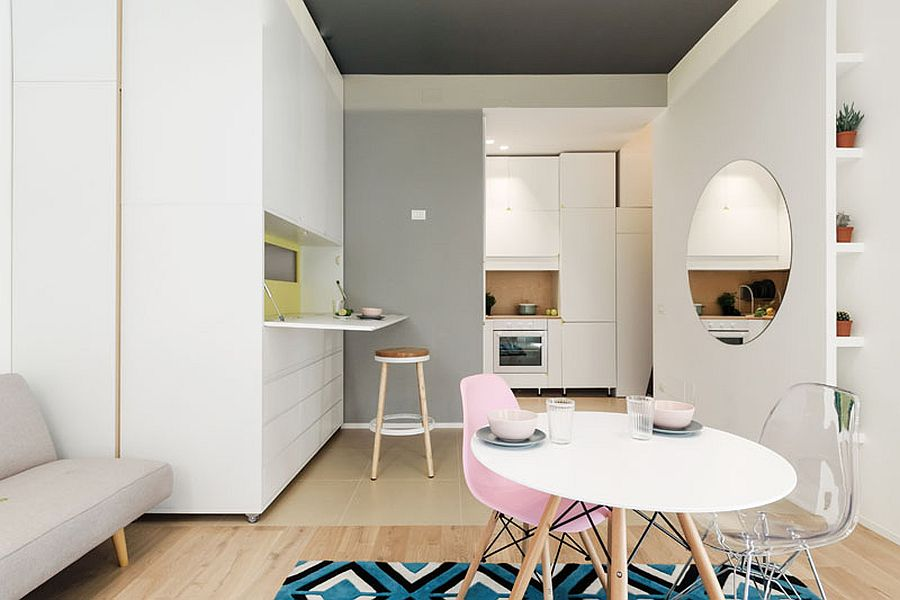 This 30 Square Meter MicroApartment has a Moving Multi