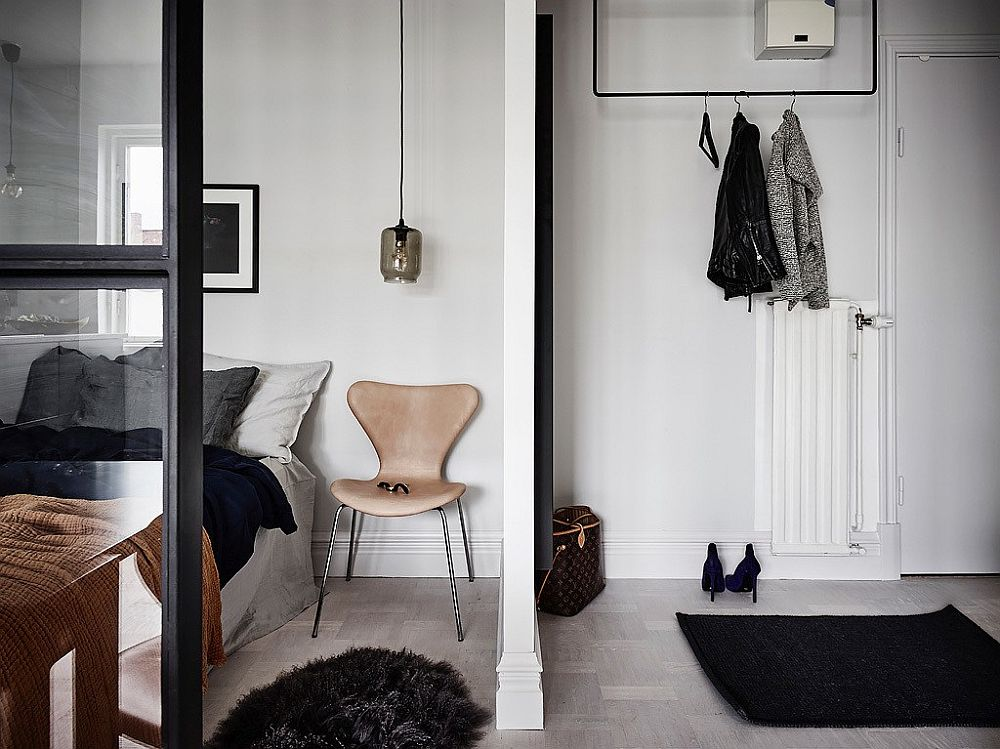 Scandinavian Style Maximizes Space Inside Tiny 26 Square