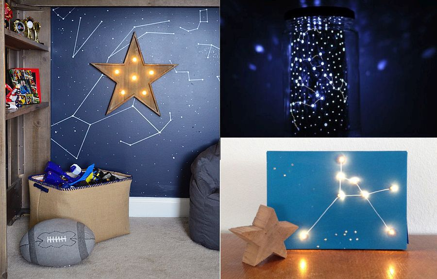 DIY Crafts that Add Starry SpaceThemed Brilliance to Your