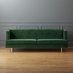 Sofa Bed Green Velvet Seafoam Colored Sofas Design Trend A Touch Of