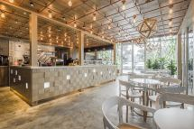 Cafe with Bakery Interior Design