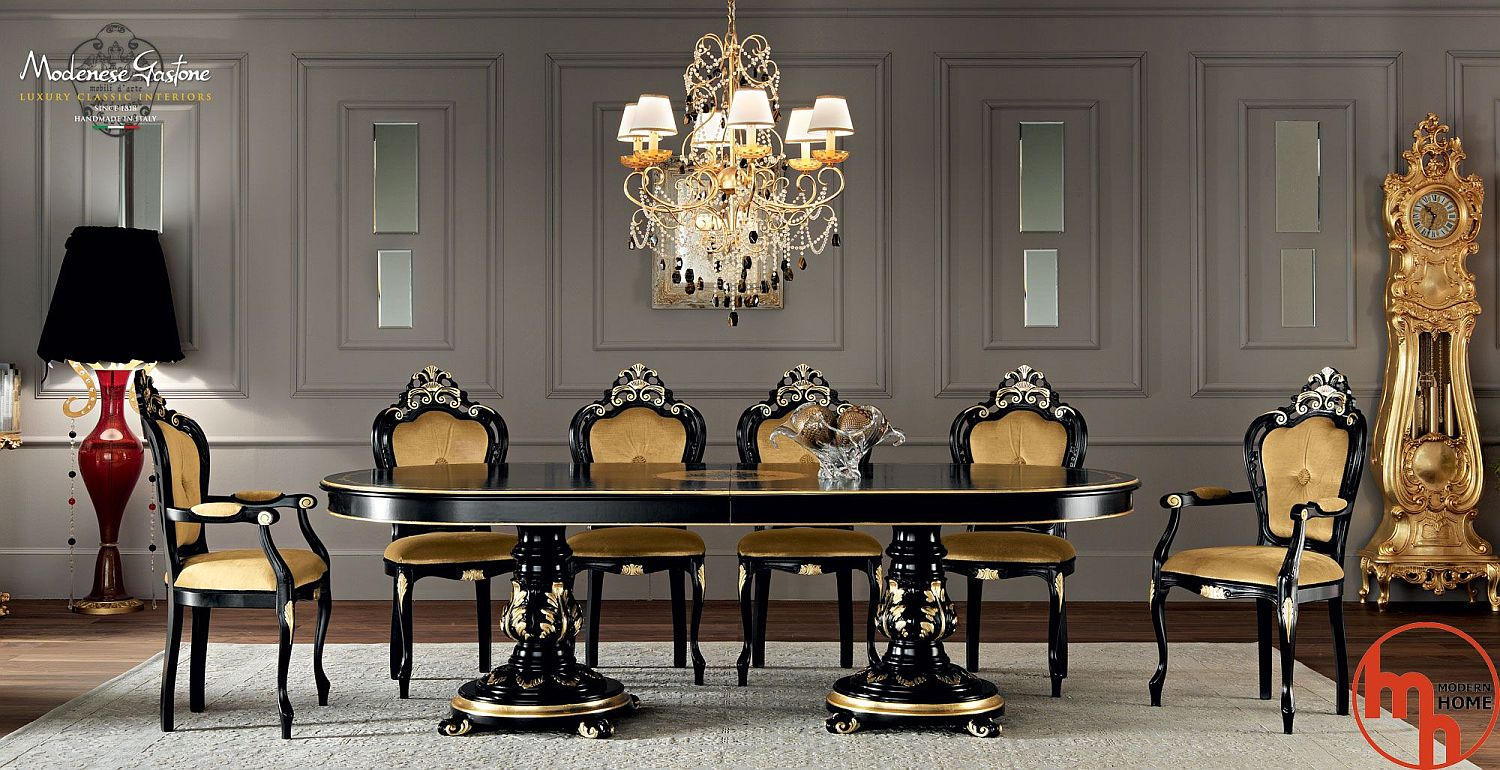 Glitter And Majestic Panache: Dining Rooms Wrapped In A