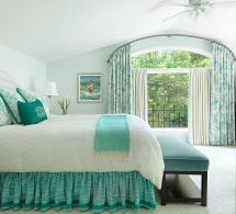 Spring 2018 Bedroom Decorating Trends Serene Green And