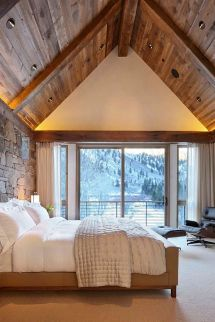 Rustic Bedroom Ceiling Design