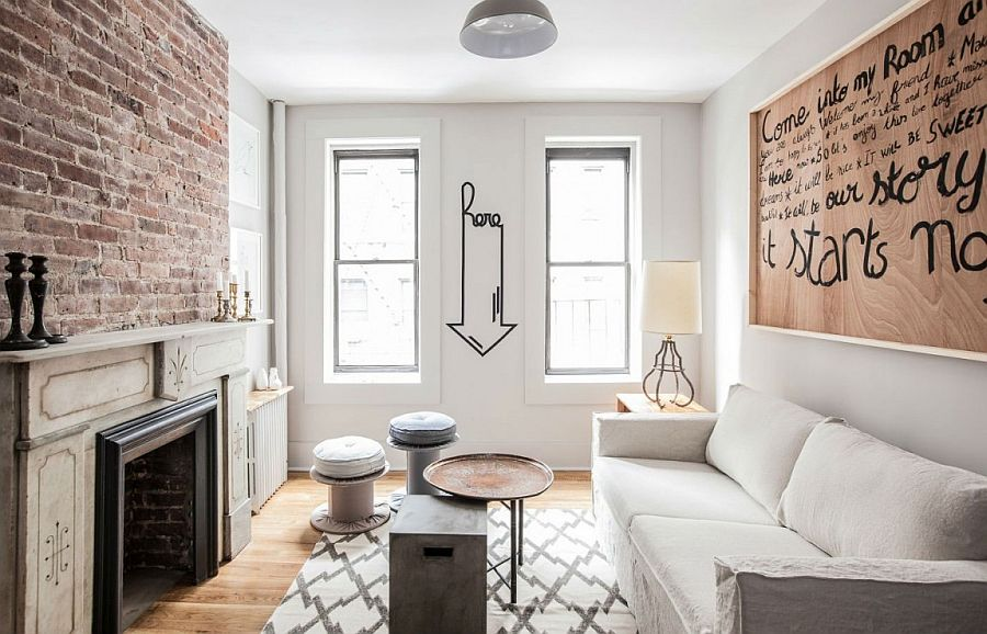 living room ideas for apartments decor pictures rooms 50 small apartment with the best space saving walls textural charm