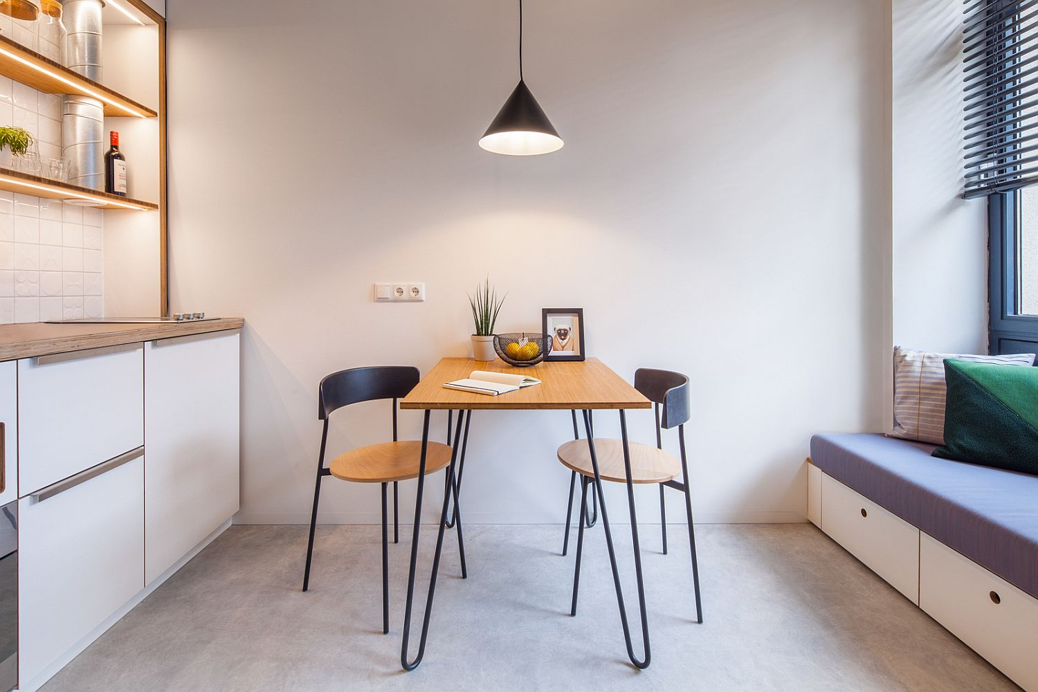 living room small apartment kitchen open floor plan 25 tiny dining rooms that save space and multitask in gallery student