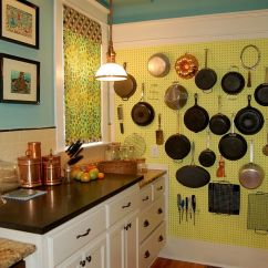 Kitchen Pegboard Residential Hood Fire Suppression System Ideas Transforming Storage Options And Saving Space