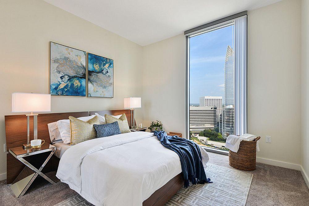 Modern Beige Color Bedroom Novocom Top