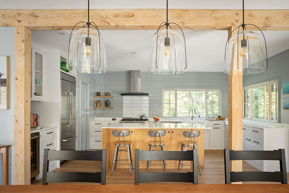 breezy beach style kitchens