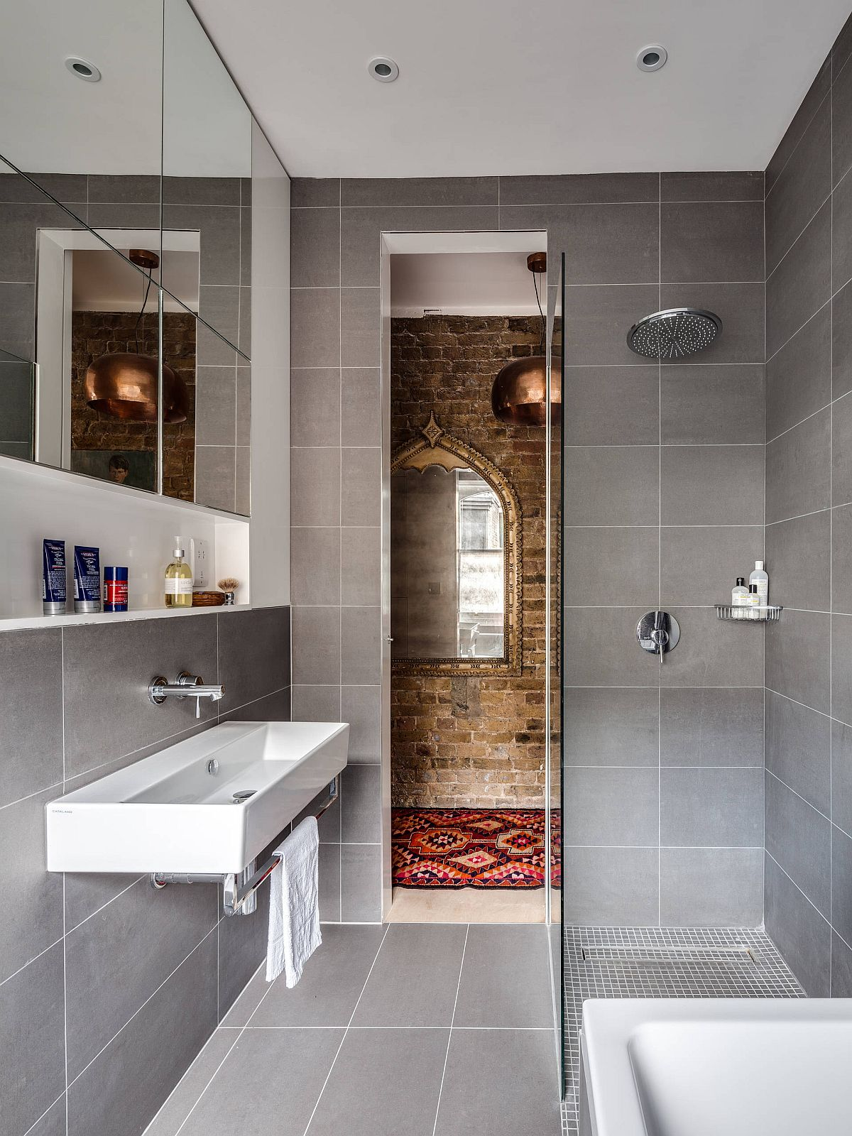 Small Gray Bathroom Ideas A Balance Between Style And Space Conscious Design