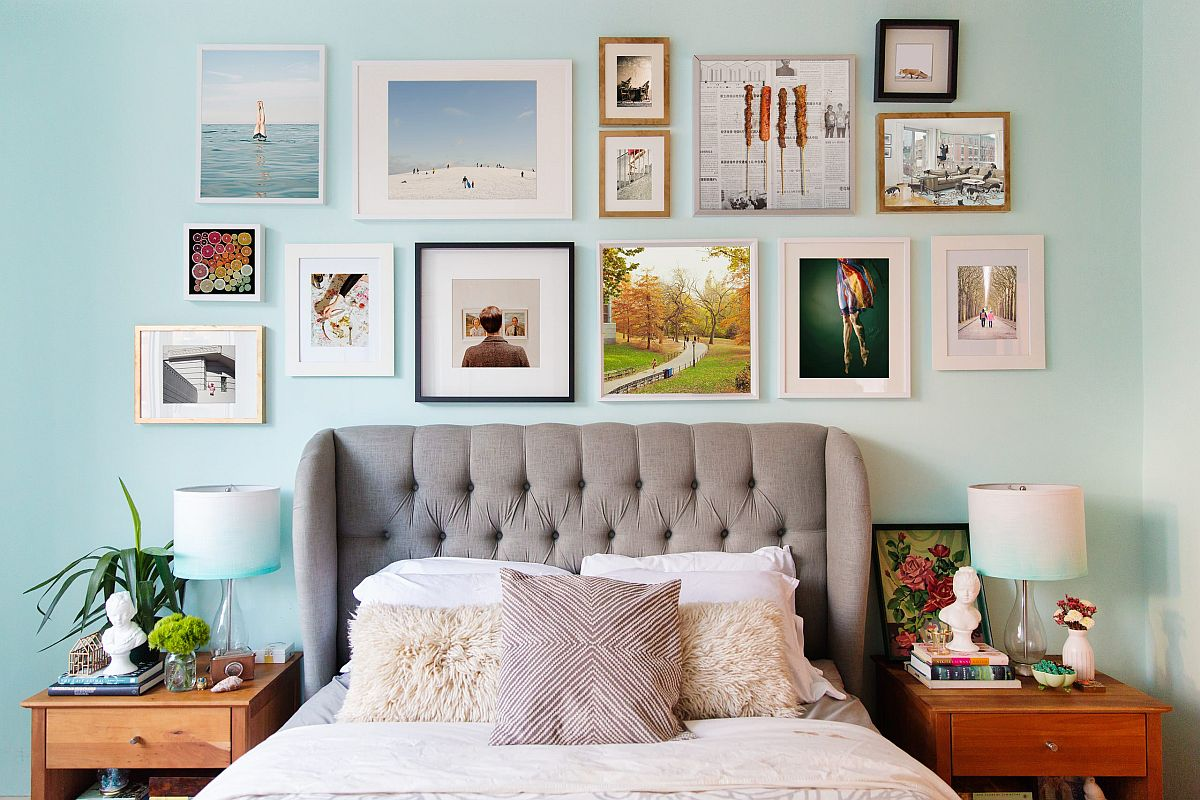 Gallery Wall For Your Bedrooms A Focal Point That Is So Very Personal