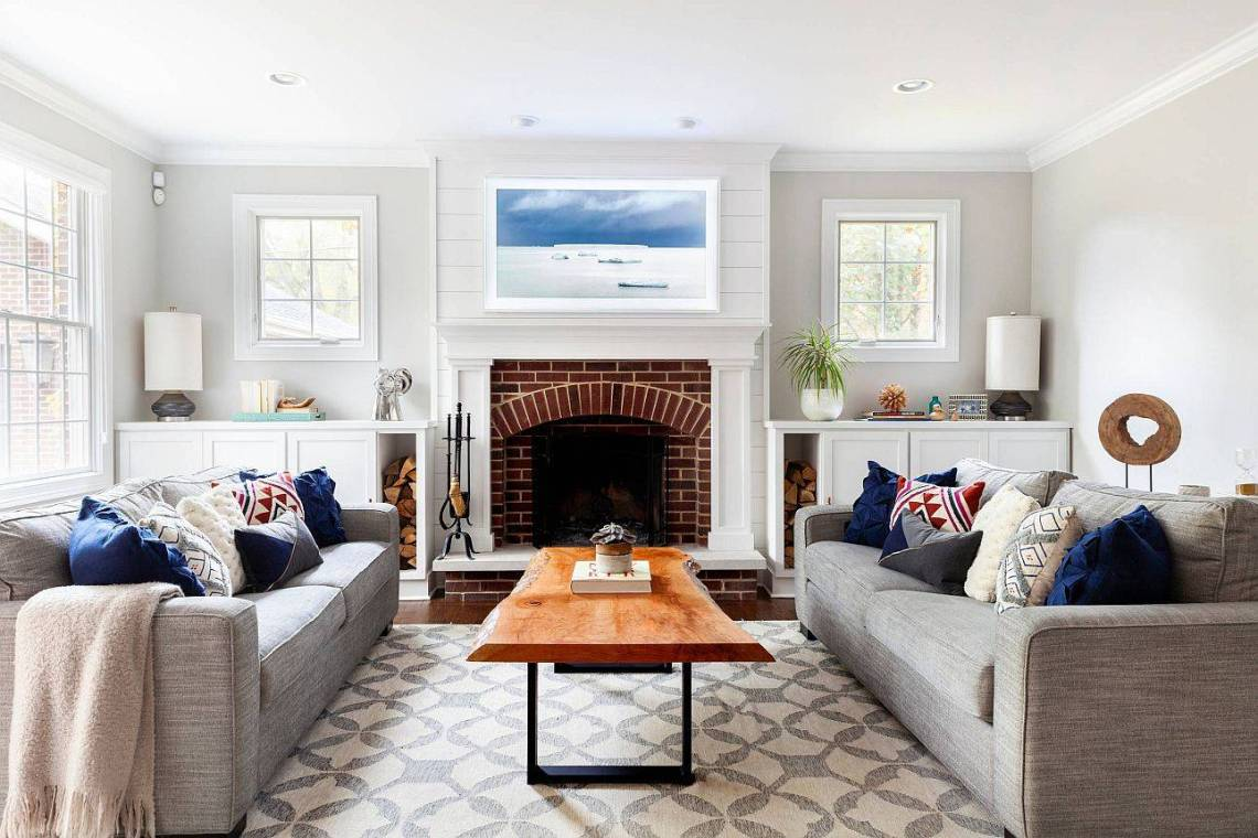 Brick Fireplace Ideas Captivating Showstoppers With Timeless Charm