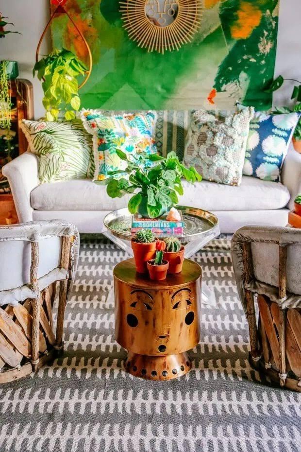 Boho Living Room Inspiration