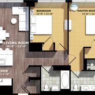 100 Apartment Plan Unit