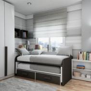 100 Minimalist Teen Room Best Bay Window Bedroom