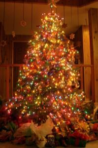 100 Tiny Christmas Tree Lights Chainsaw