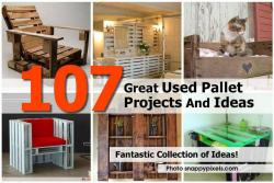 107 Great Used Pallet Projects Ideas