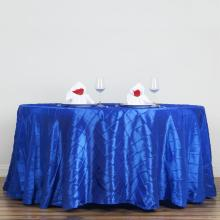 108 Pintuck Round Tablecloth Wedding Banquet Party