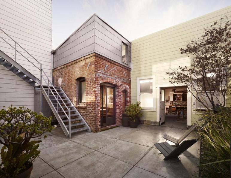 160 Square Foot Micro Apartment Tiny Brick House