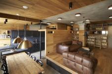 175 Sqm Unique Apartment Interior Design Inserted
