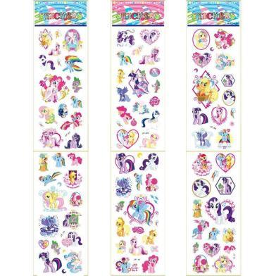 2015 New Horse Anime Cartoon Stickers Pvc Adhesive