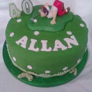 40th Birthday Cake Ideas Men